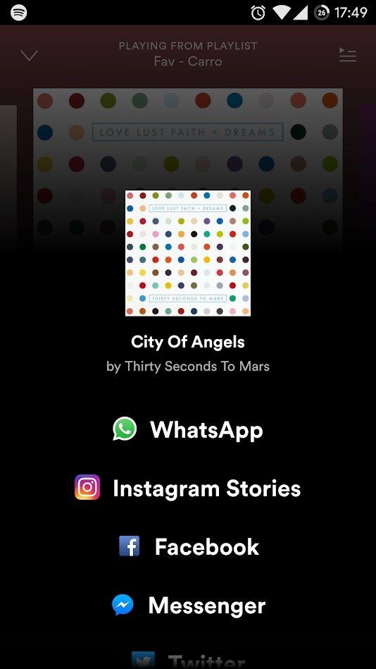 instagram partilha