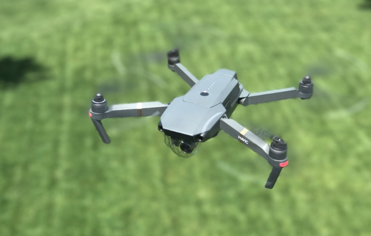 drone a voar