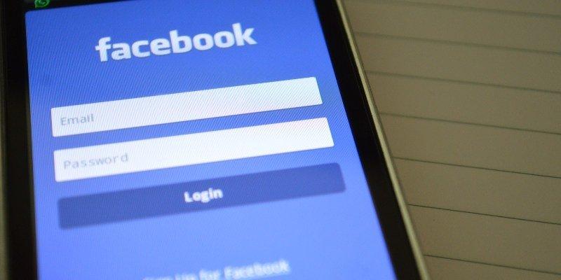 facebook aplicação movel