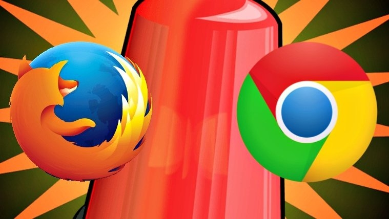 chrome firefox logos
