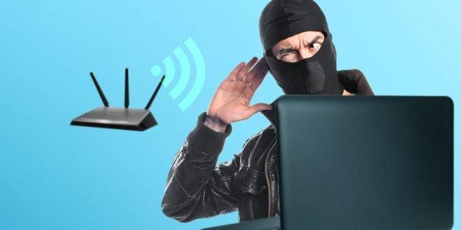 ladrão wifi