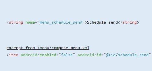 código app gmail
