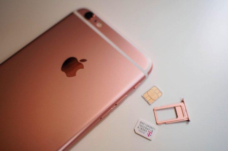iphone cartões sim