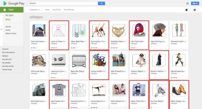 aplicações maliciosas na play store da google