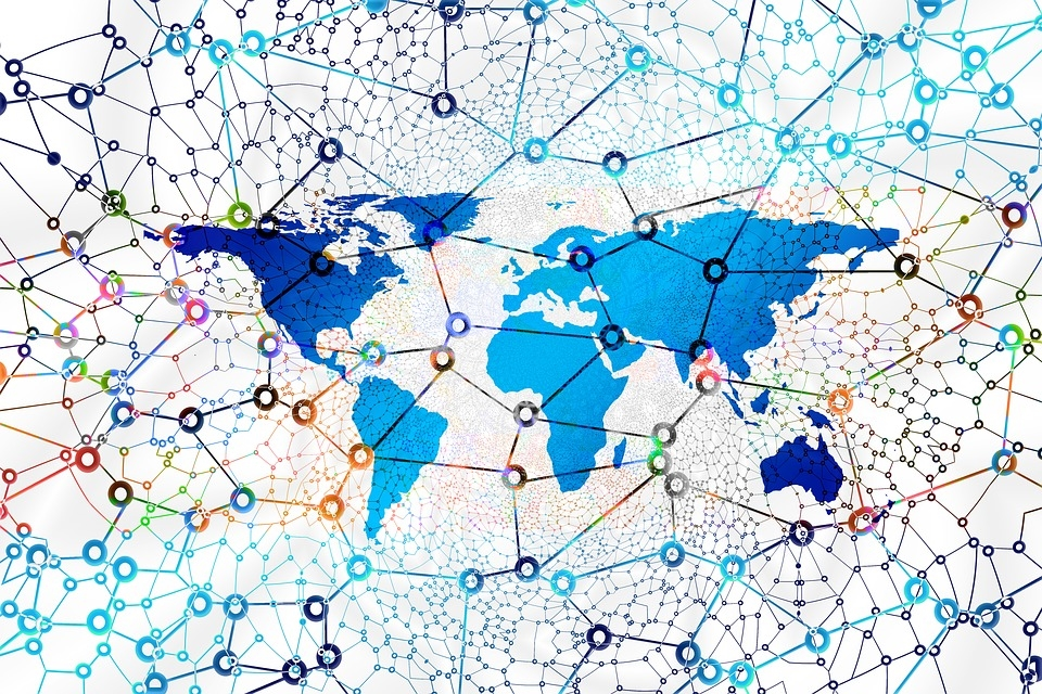 mapa global ligado