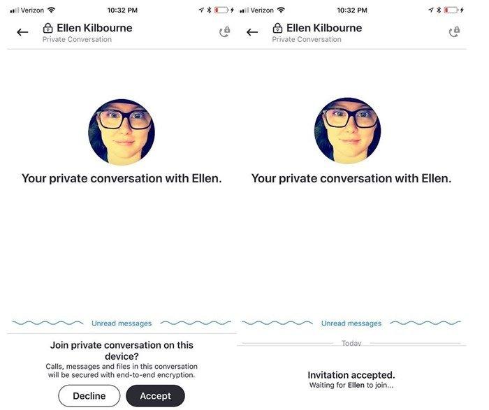 skype conversas