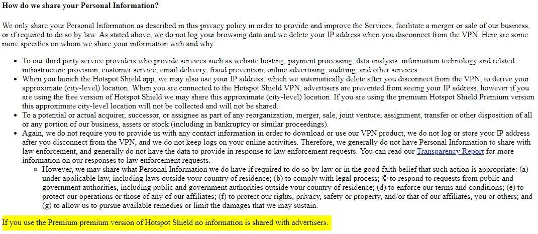 política privacidade