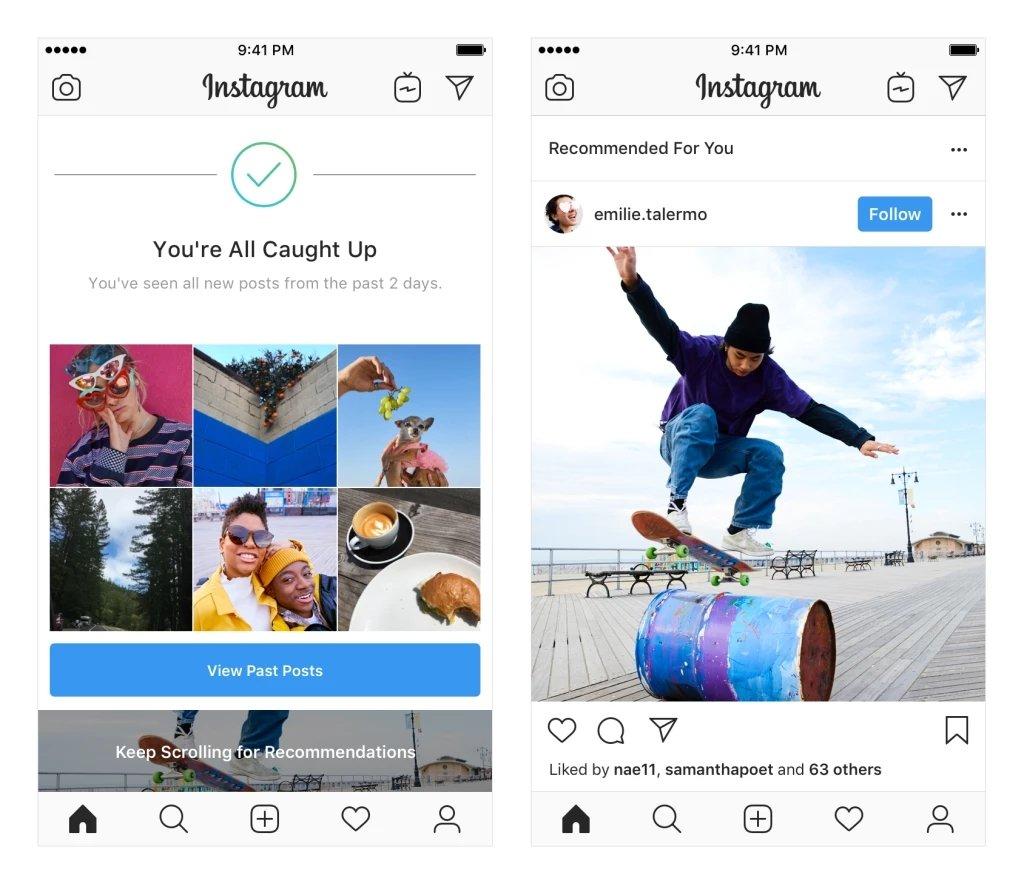 posts recomendados instagram