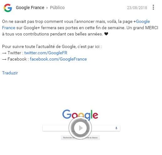 google frança alerta plus