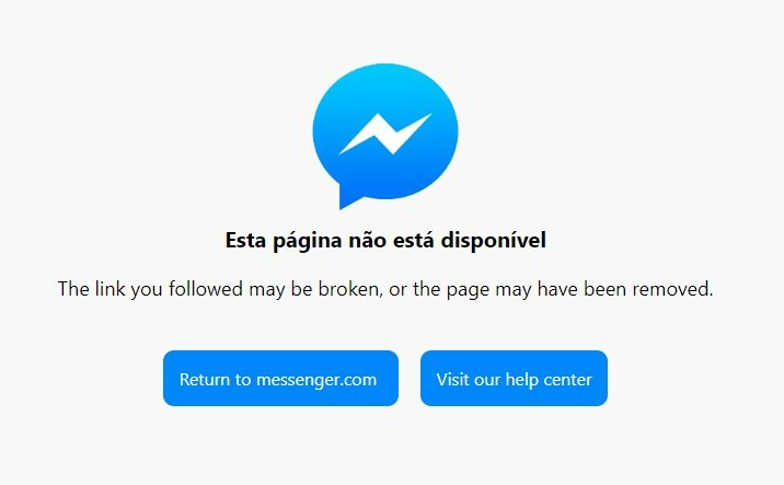 Messenger down