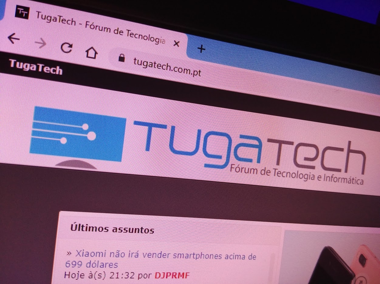 google chrome domínio tugatech