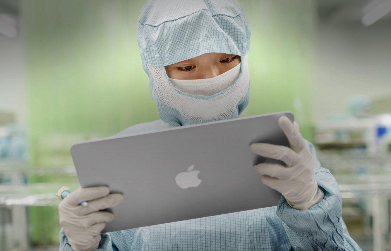 apple produção