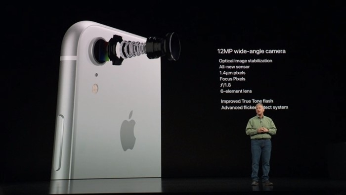 câmara traseira