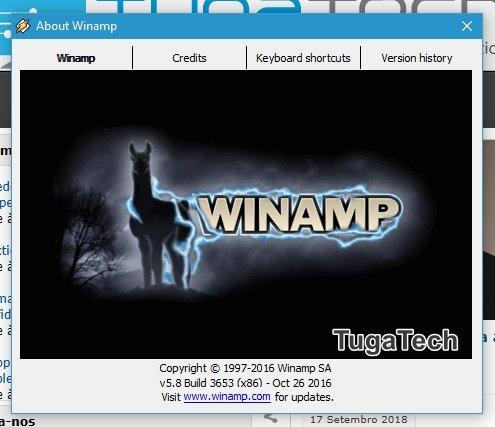 winamp 5.8 beta