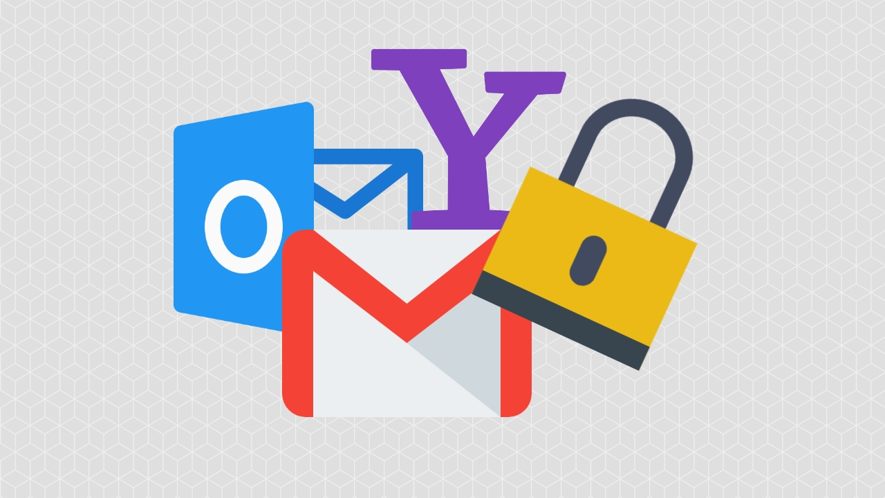 permisões emails gmail outlook yahoo