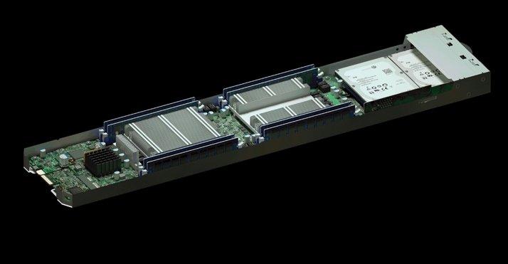 servidor com chip espião