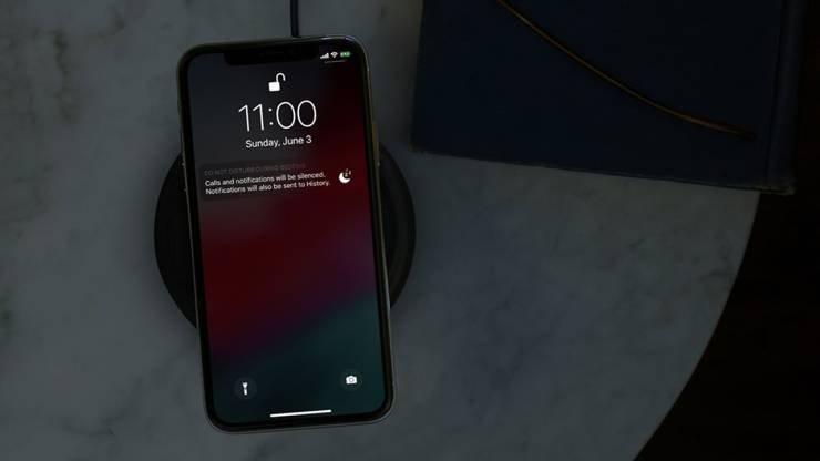 iphone carregamento sem fios