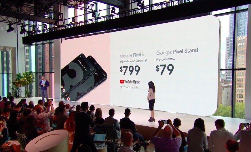 google disponiblidade