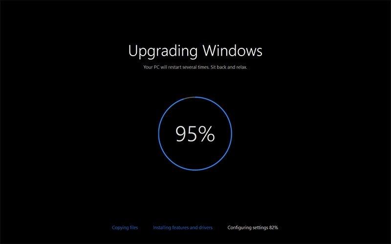 windows atualização