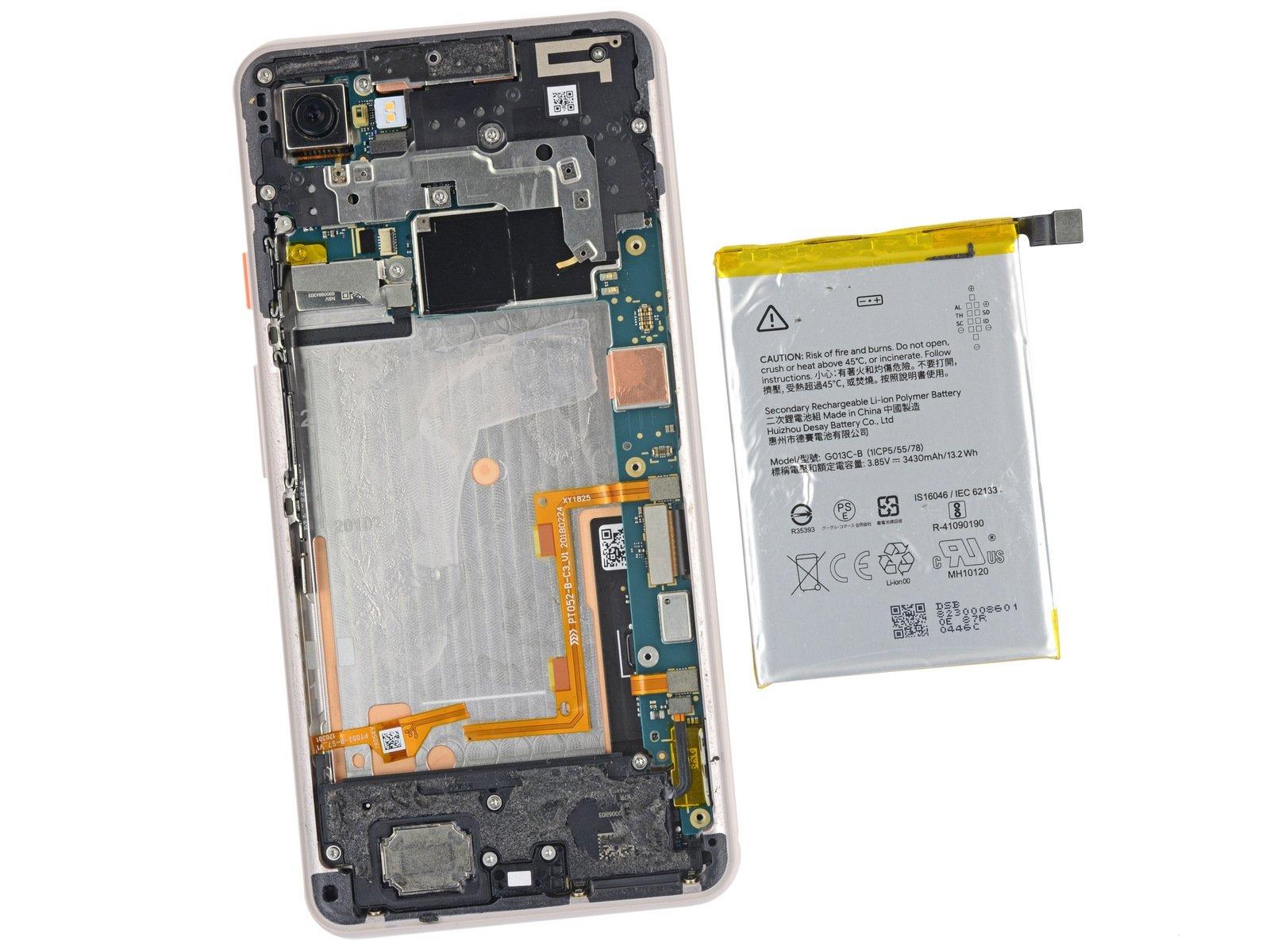 bateria pixel 3