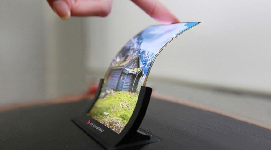 ecrã dobrável smartphone