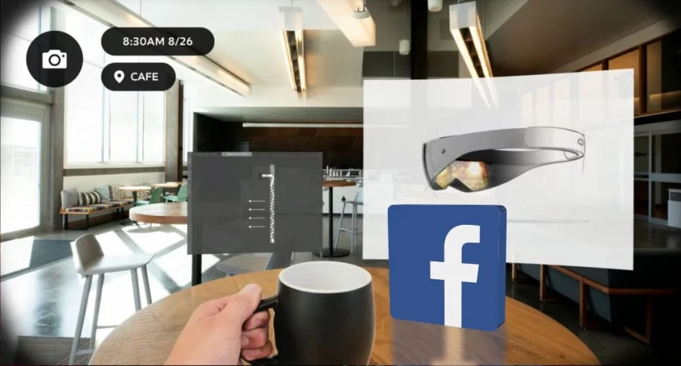 exemplo interface realidade aumentada
