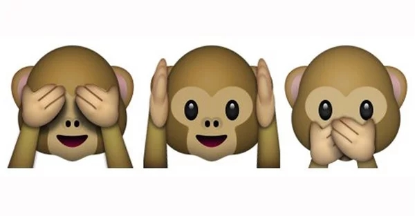 apple emojis macacos