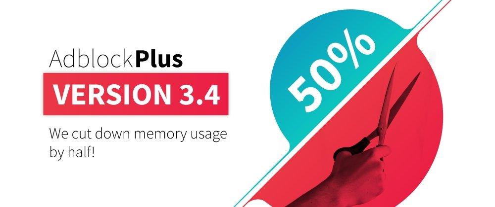 adblock plus 3.4 nova interface e memória leve