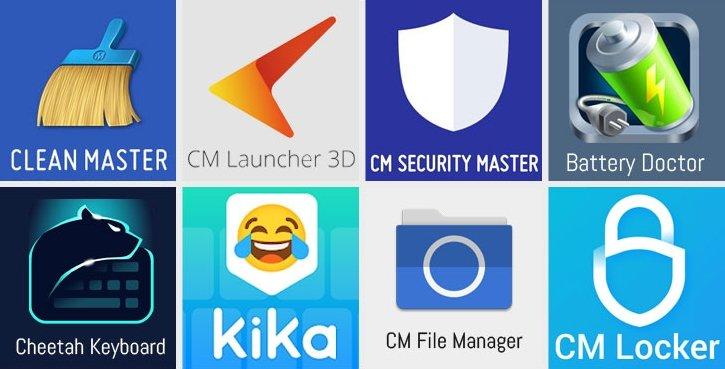 aplicações afetadas