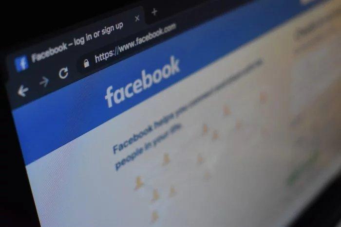 Facebook logo inicial