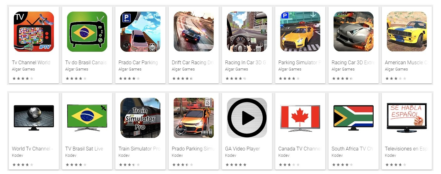 apps maliciosas play store