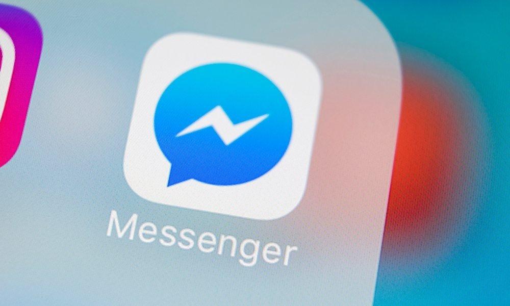 facebook messenger ícone ios