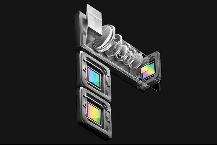 smartphone câmera zoom otico oppo