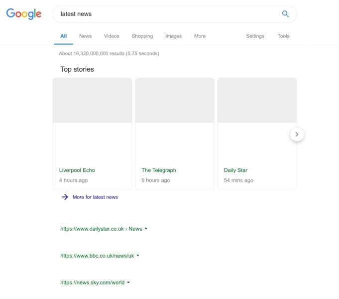 pesquisa da Google artigo 11