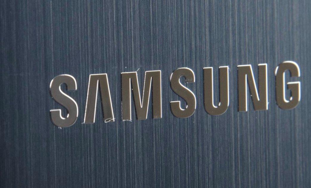samsung logo smartphone