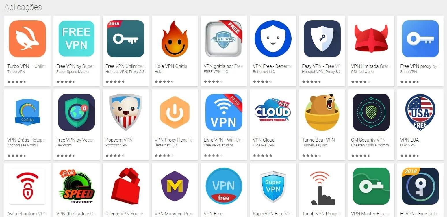vpns gratuitas android