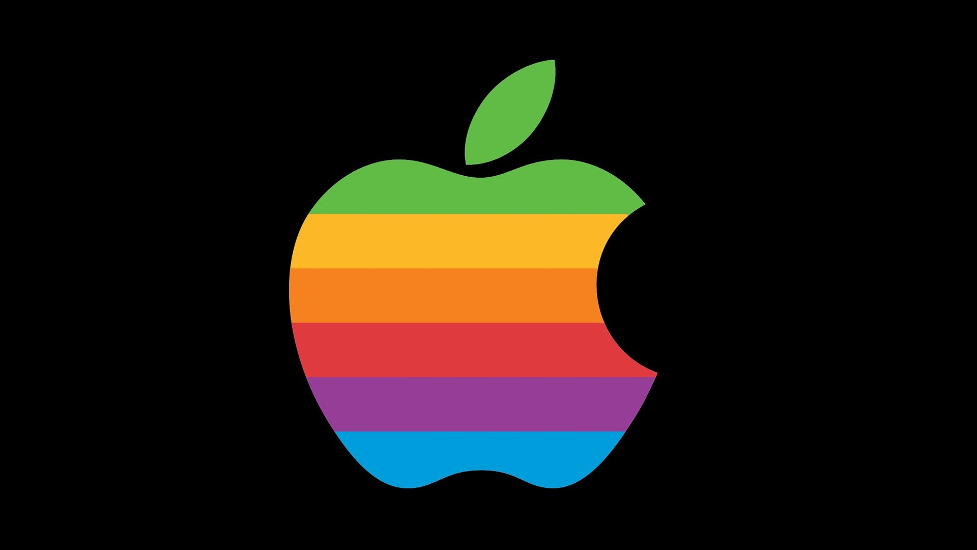 Apple logo antigo