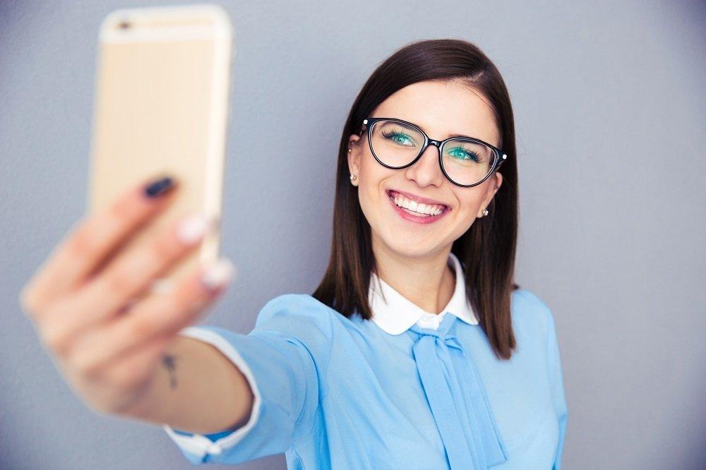 selfie câmera smartphone