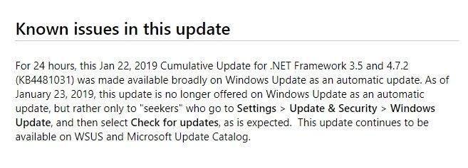 alerta atualização windows 10