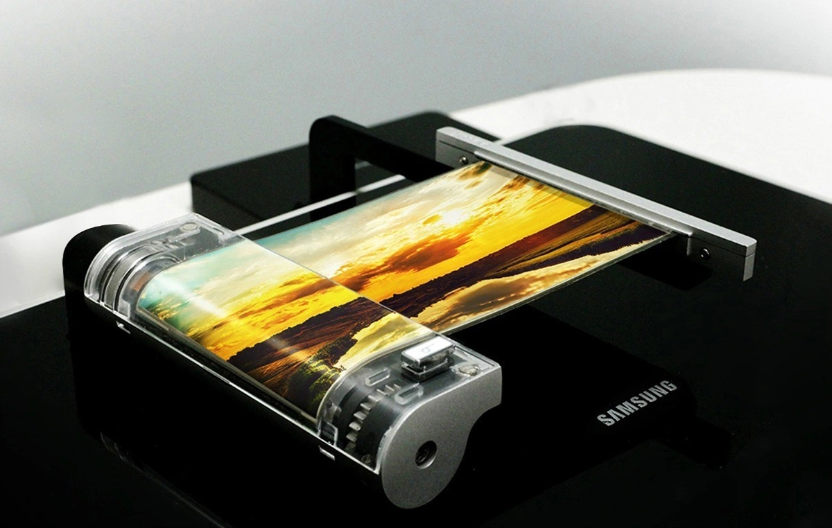 samsung ecrã flexivel
