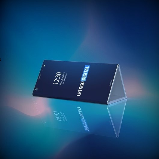 intel smartphone dobravel