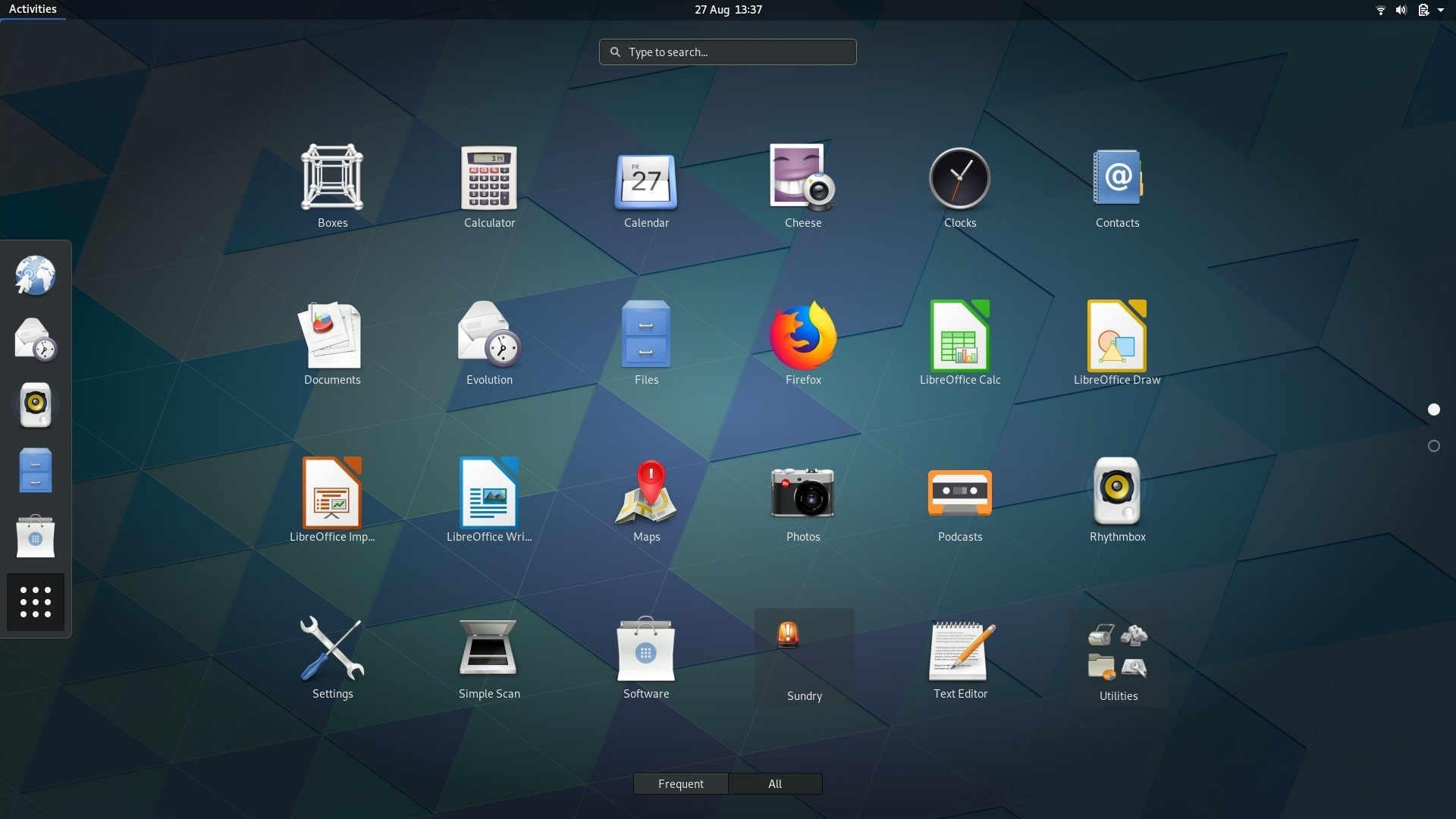 GNOME linux