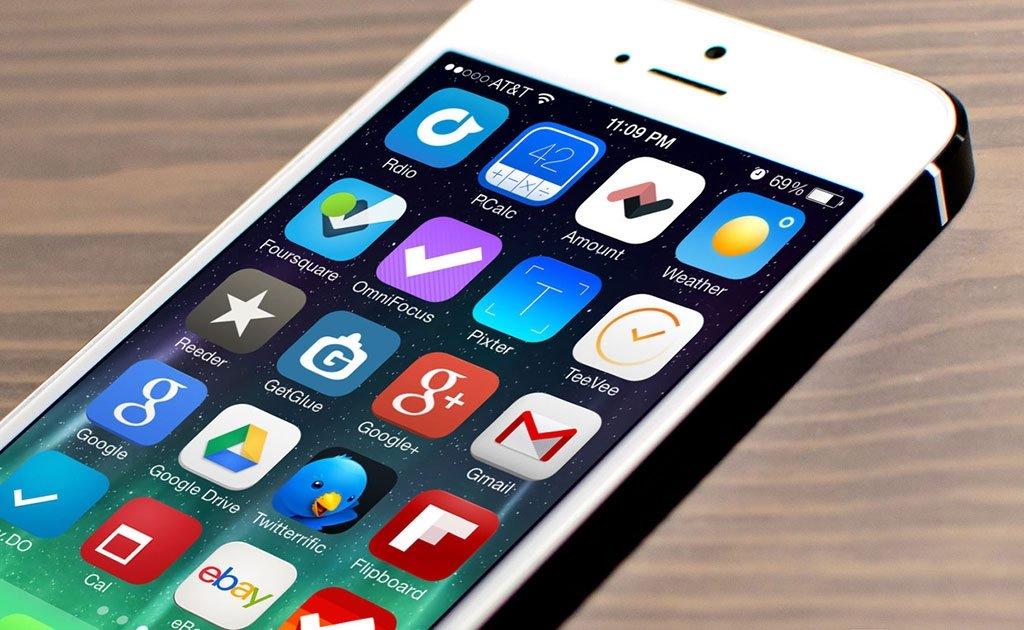 apple iphone aplicações