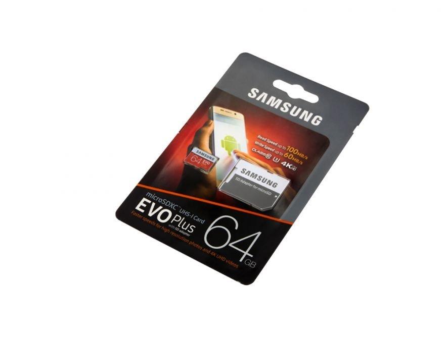 samsung microsd card evo plus 64