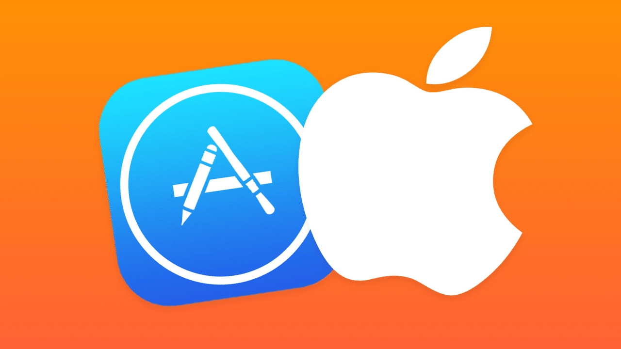 apple logo app store