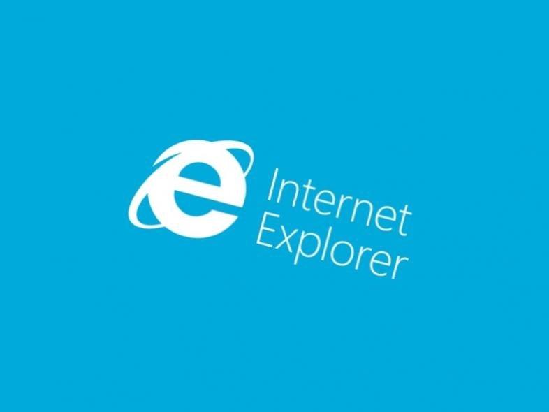 Internet explorer logo azul