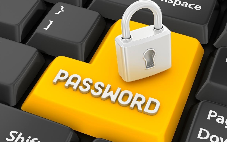 password senha entrada enter