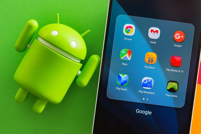 google android apps padrão