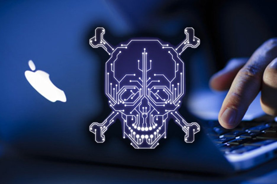 macos malware caveira vírus